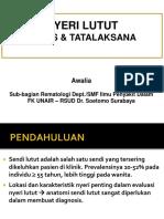 Nyeri Lutut, Gambaran Klinis, Dan Tatalaksana