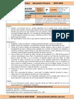 Agosto - 6to Grado Educación Socioemocional (2019-2020)