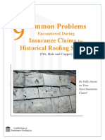 Common Problems With Insurance Claims