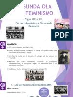 Segunda Ola Del Feminismo