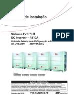 Manual Condensadoras TVR LX