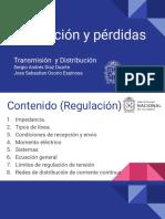 Regulación y pérdidas en lineas de transmisión