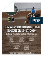 Clovis Horse Sales Winter 2019 Catalog