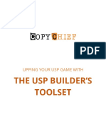 The USP Builders Toolset Copy Chief