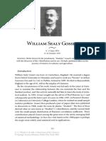 Biografia de William Sealy Gosset