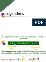 Logarithm Topic
