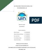 Laporan Praktikum Teknologi Sediaan 3 - Studi Preformulasi