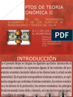 Conceptos de Teoria Económica II