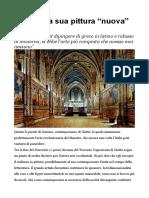 Giotto e La Sua Pittura