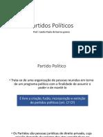 9. Partidos Políticos