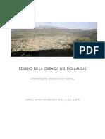 Estudio de La Cuenca Del Río Amojú