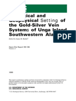 Geological & Geophysical Setting of the Gold Silver Vein Systems of Unga Island, Southwestern Alaska , By J. L Riehle Ed., USGS Open-File Rep. 99-136, 1999 Of99-136
