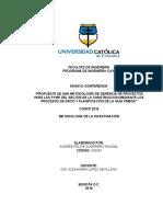 Ensayo Conferencia Coniiti, Met. Investigación - Andrés Guerrero