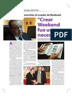 Revista Weekend su creación