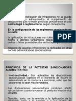 Principios de la Potestad Sancionadora Administrativa. Estabilidad de la Competencia para la Potestad Sancionadora. Faltas Administrativas. .pdf