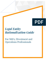 Guide to Legal Entity Rationalization