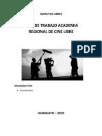 Proyecto Regional Academia Cine Libre