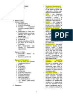 Labor Law Review Usec. JBJ