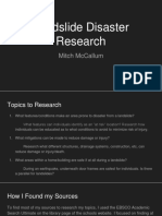 mitch mccallum disaster research