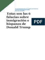 FALACIAS DE TRUMP