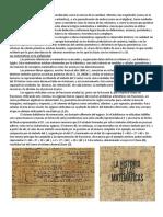 Historia de La Matemática