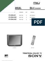 Kv29al40 Sony Tv