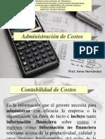 Administración de costo. Herramienta Gerencia