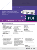 Issabel Appliances Datasheets ISS UCR Business 550 v1 5