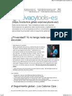 privacytools-es - cifrado contra la vigilancia masiva ?