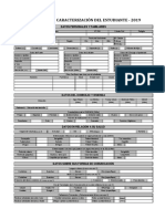 Ficha de Caracterización Del Estudiante