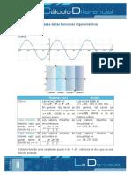 Propiedades de Las Funciones Trigonometricas
