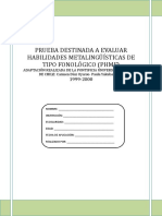 Test de Conciencia Fonologica Phmf (1)COMPLETO (1)