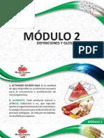 Curso Manipulacion de Alimentos Modulo 2 Definiciones y Glosario