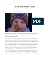 Developmental Tasks Theory
