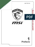 Manual de Usuario Msi Ge62 2qd Apache Pro