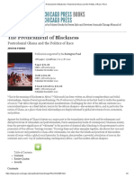 The Predicament of Blackness_ Postcolonial Ghana and the Politics of Race, Pierre