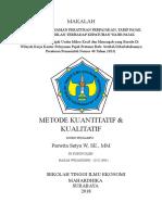 Cover Dan Daftar Isi Metode Kuantitatif Kualitatif[1]