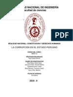 Corrupción en El Estado Peruano