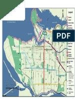 2005 Green Ways Map