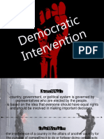 Democratic Intervention