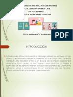Proyecto de Ética y Relaciones Humanas
