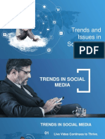 Social Media Trends and Issues
