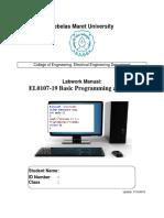 programming manual for basic learning