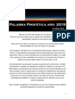 Palabra-Profética-para-el-año-2019 Ana Méndez