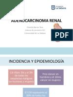 Carcinoma de Células Renales