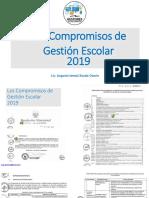 COMPROMISOS DE GESTION ESCOLAR 2019