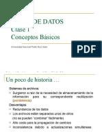 Clases 1y 2 Base de Datos