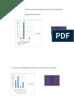 Resultados y Graficos de cuestionario de Maestros de Secundaria.
