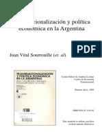 Transnacionalización y política económica en la Argentina