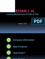 Company Information PT for PVD, PHD Customer 2019